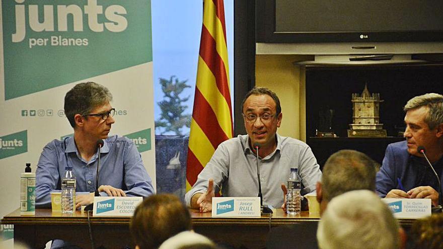 Josep Rull presenta a Blanes el seu nou llibre