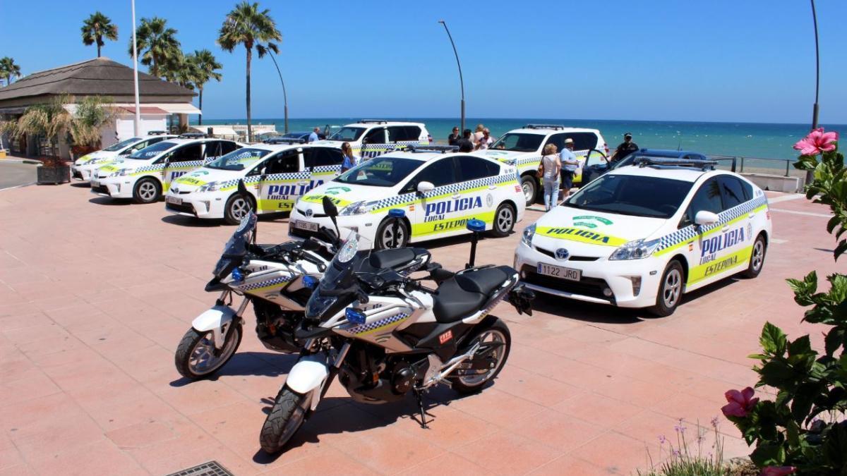 Nuevos vehículos de la Policía Local de Esepona.