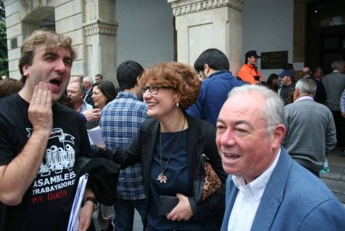 PLENO DE INVESTIDURA DEL SOCIALISTA ANGEL GARCIA COMO ALCALDE DE SIER