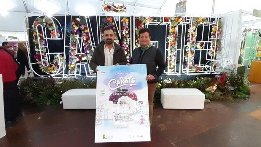 Calles en Flor, de Cañete, acogerá este año a artistas nacionales e internacionales