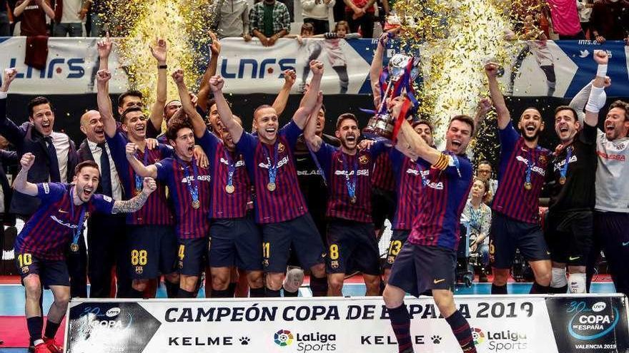 El Barcelona Lasa regresa a la cima ante ElPozo
