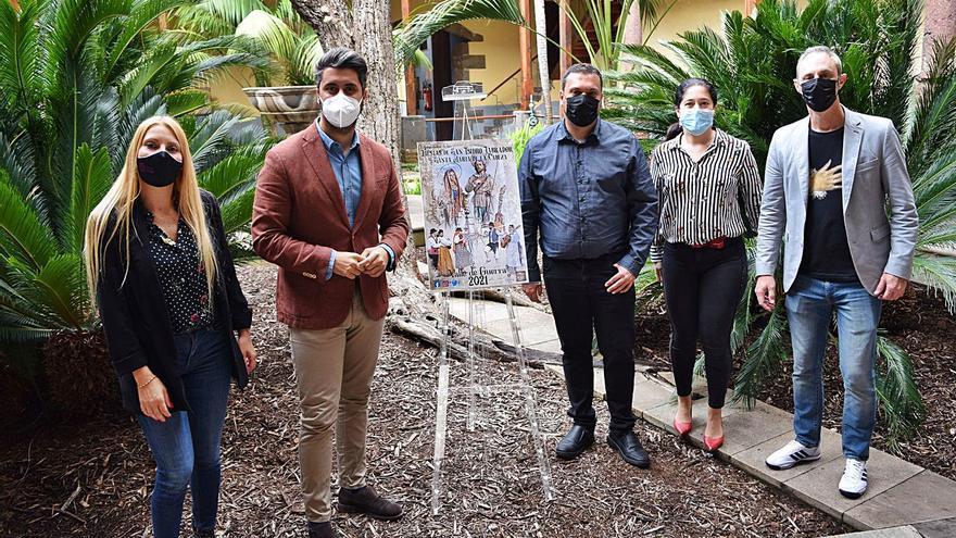Valle de Guerra celebra sus fiestas a través de las redes sociales