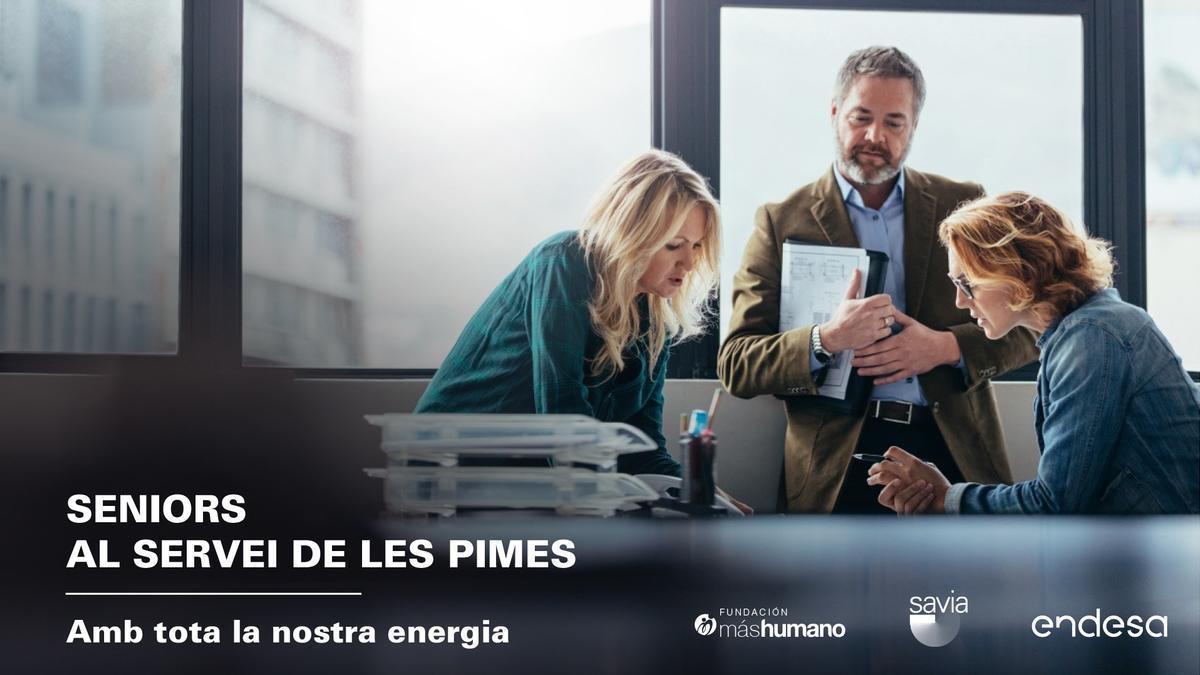 Programa 'Seniors al servicio de las Pymes', de Endesa y la Fundación máshumano