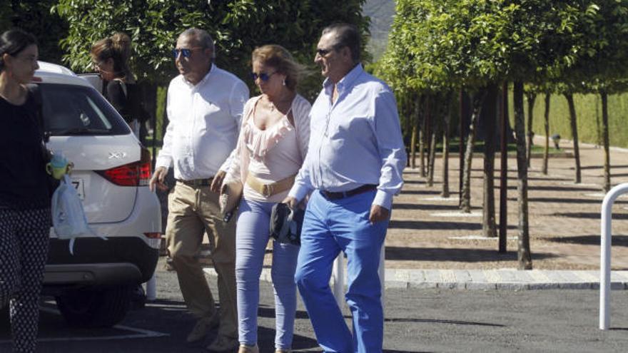 Las cenizas de Blesa reposan en el panteón familiar de Linares