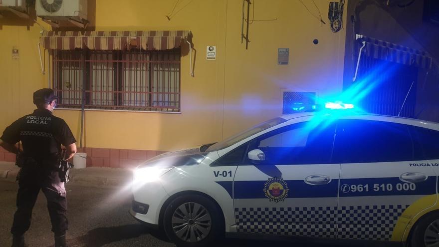 La Policía de Alaquàs frustra un robo en el polígono del Bovalar