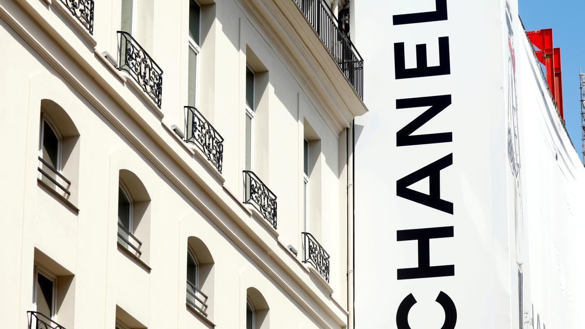 Una tienda de Chanel en París