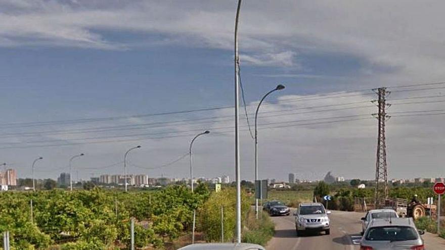 Movilidad revierte el uso agrario de la carretera de Benimàmet