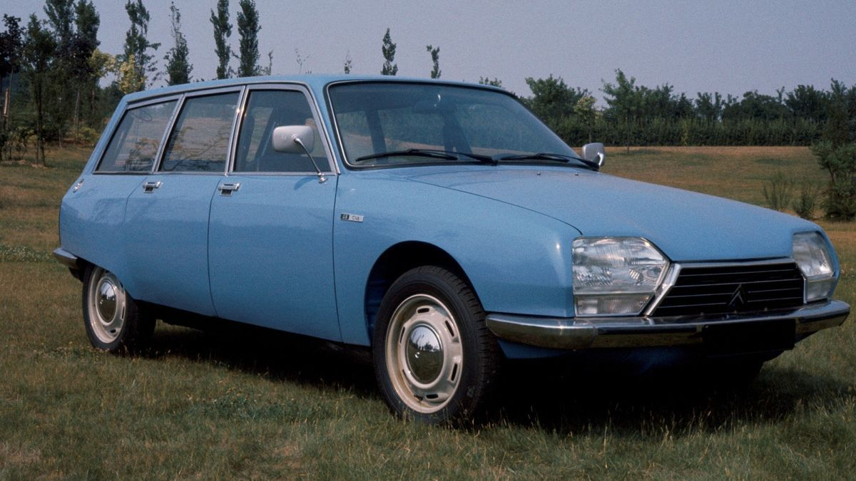 The Citroën GS Break turns 50 years of history
