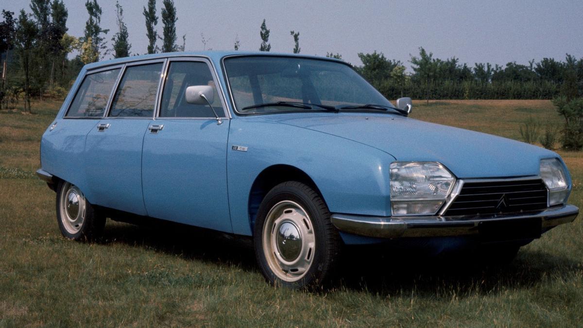 El Citroën GS Break cumple 50 años de historia