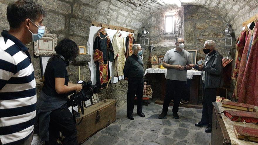 Visita al Santuario de la Virgen de la Carballeda, en Rionegro