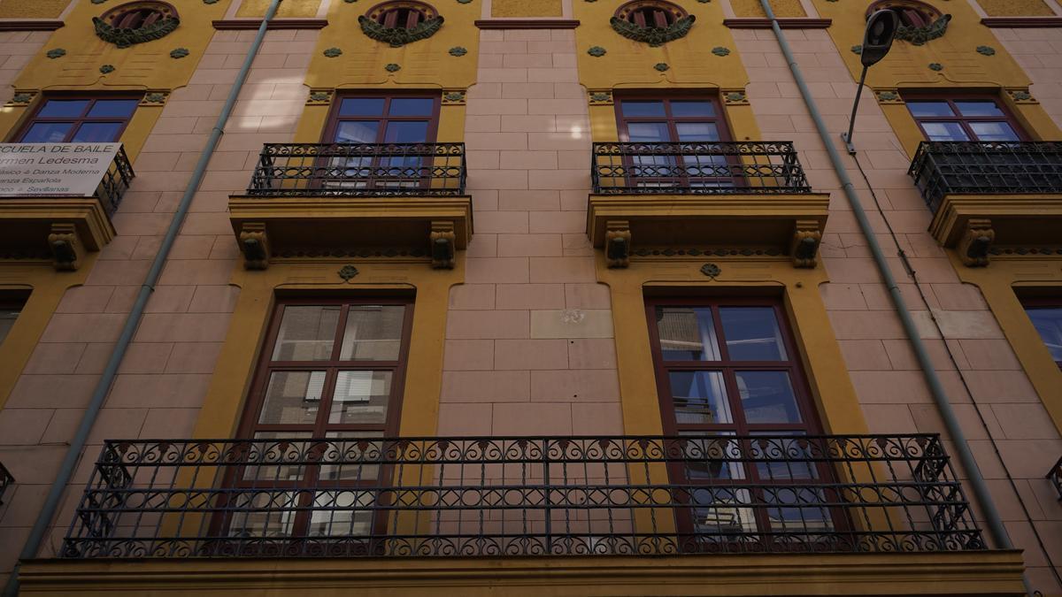 Edificio en Zamora.