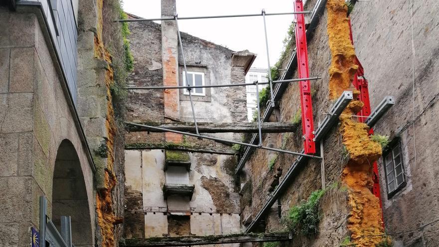 Betanzos saca a contratación por 126.000 euros la reconstrucción de la Casa Gótica
