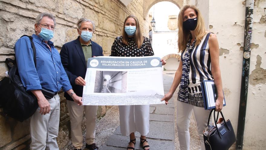 El Ayuntamiento retoma varias obras en el Casco Histórico de Córdoba un año después de anunciarlas