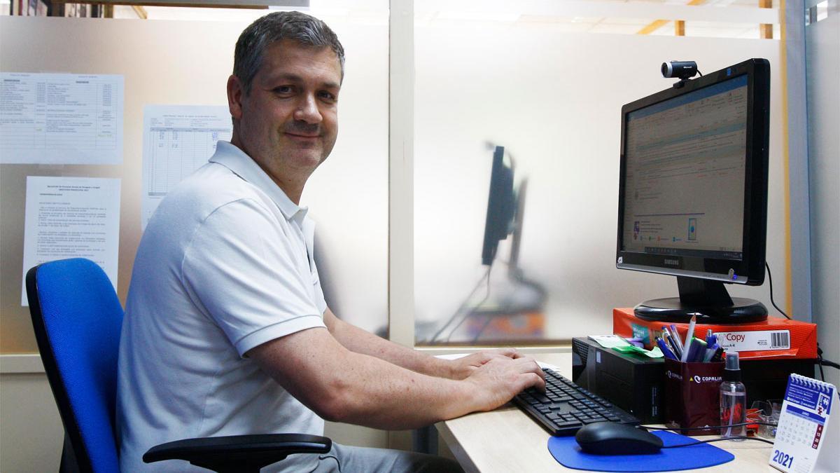 Jesús Carlos Laiglesia. Responsable de relaciones institucionales de ASZA