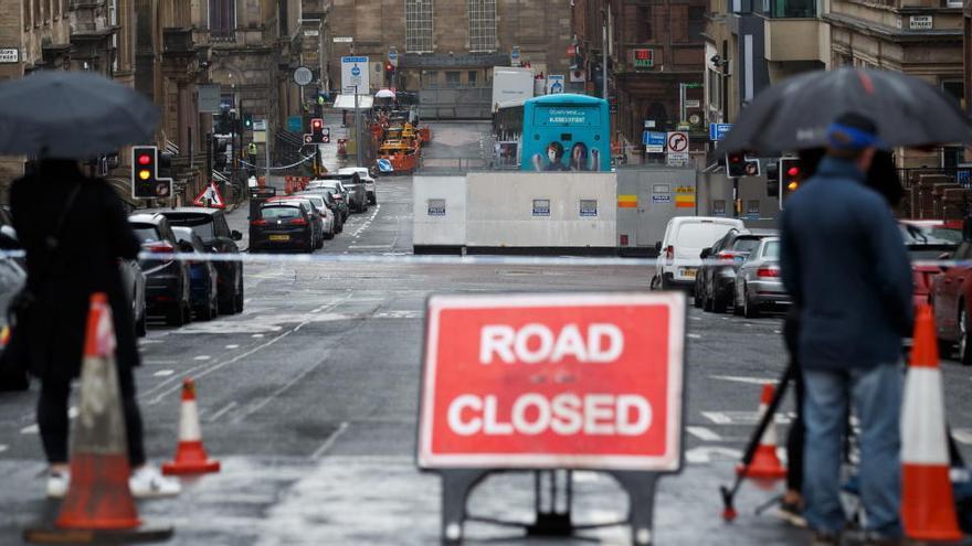 La Policía identifica al agresor del apuñalamiento en Glasgow