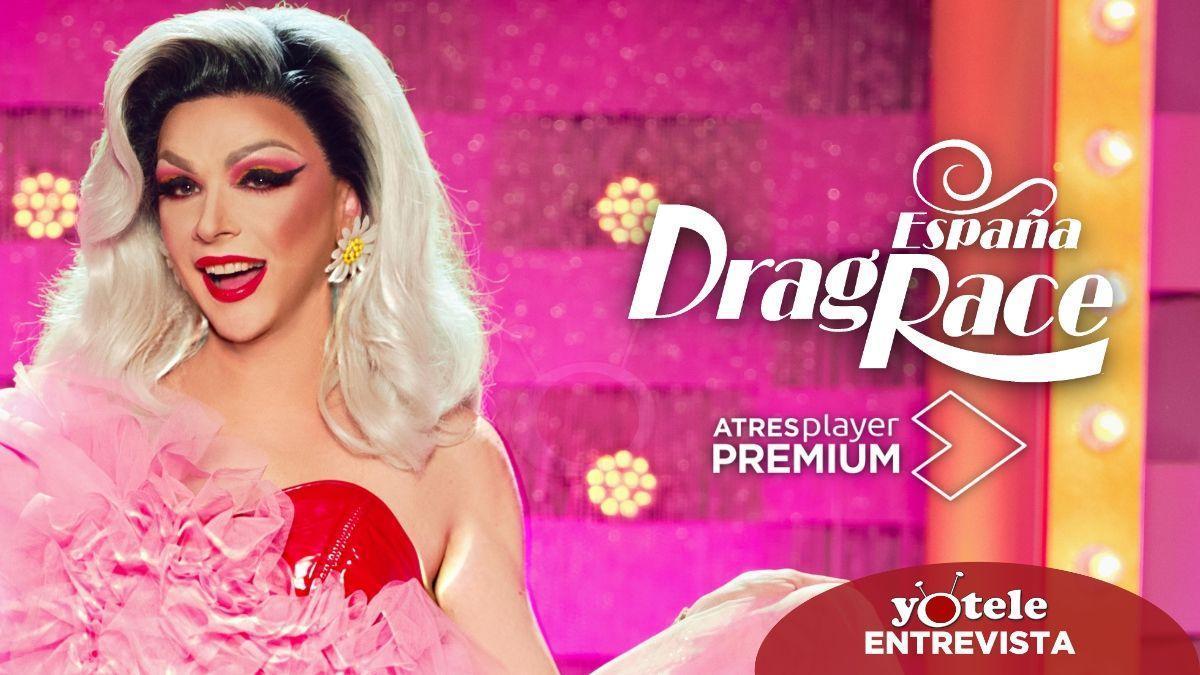 Supremme de Luxe, presentadora de 'Drag Race España'.