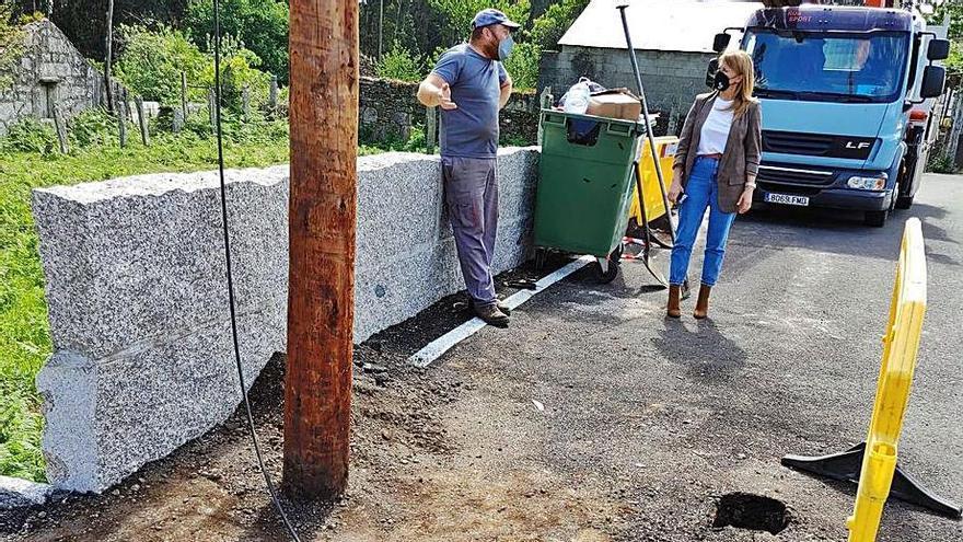 Un municipio de Madrid pide ayuda a Salceda con los postes