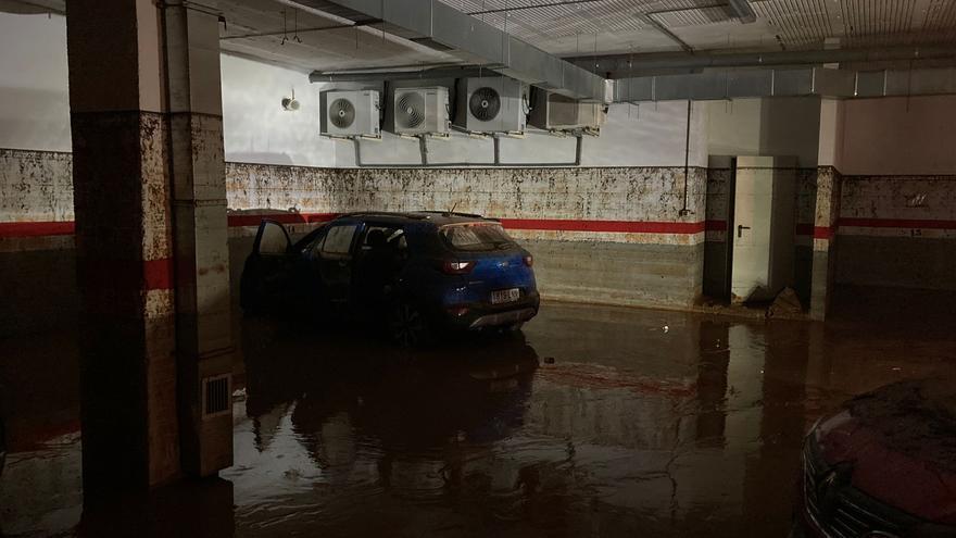 El Hotel Acosta Centro es de los edificios más damnificados por las inundaciones