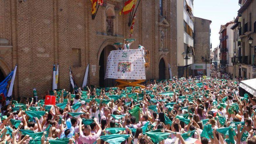 Huesca inicia el próximo lunes, 9 de agosto, sus segundas 'no fiestas' de San Lorenzo