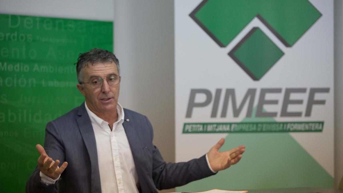 Alfonso Rojo, presidente de la Pimeef, en una imagen de archivo.