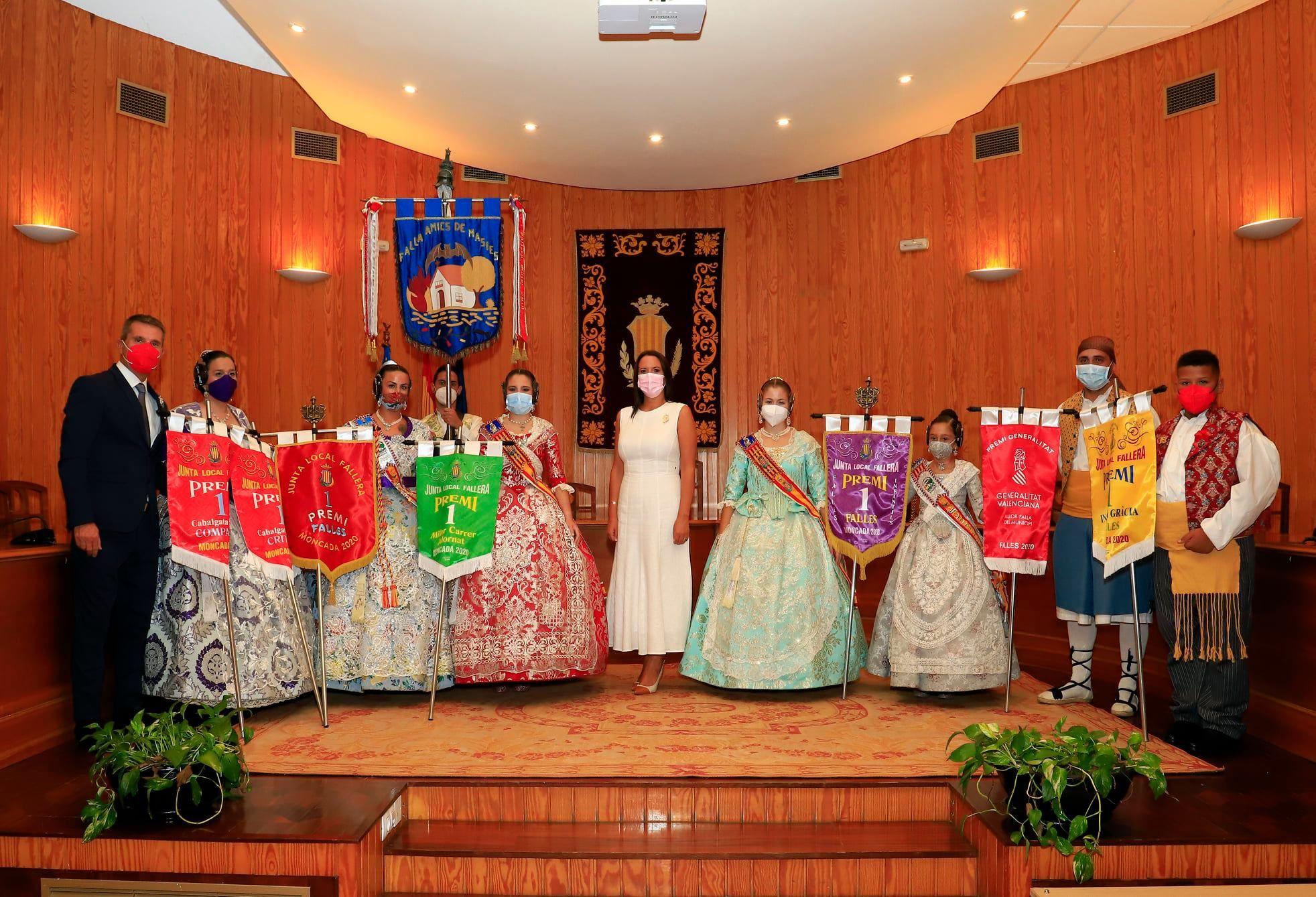 Entrega de premios en Moncada