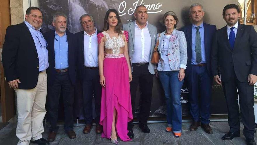 'O Himno por Andrea Pousa' conmemora o centenario do pasamento de Pondal