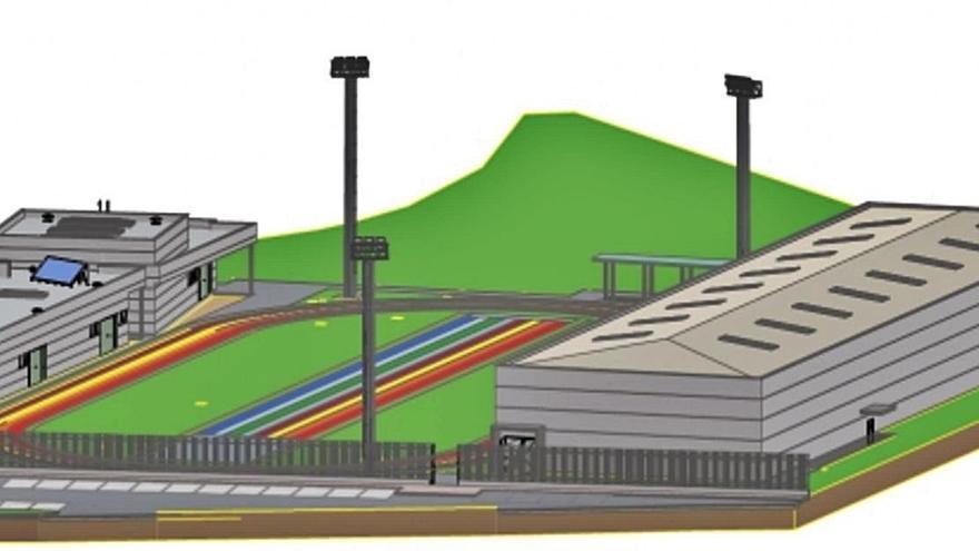 El proyecto de la ciudad deportiva de Sada enfrenta a la Fundación Barrié y al Concello