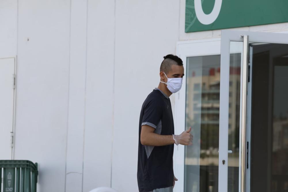 El Elche se somete a los test del coronavirus
