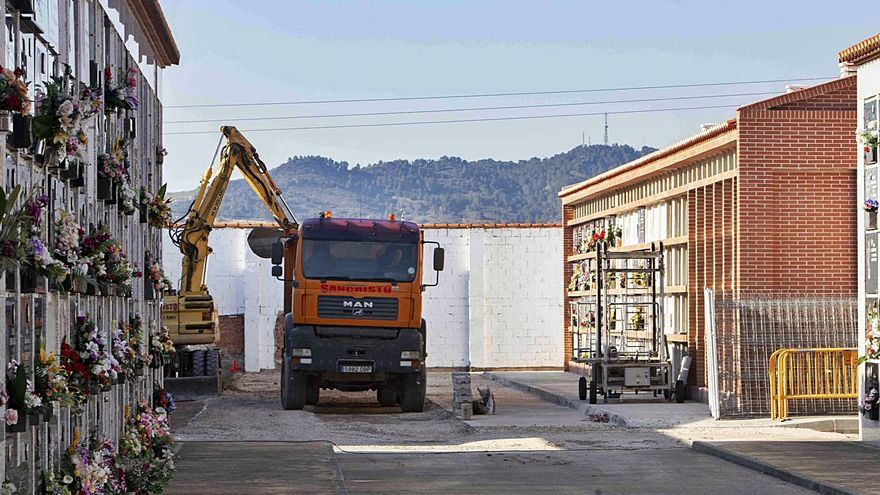 Xàtiva traza un plan de ampliación del cementerio para la próxima década