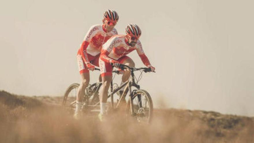 El bagenc Ignasi Ávila guanya la última etapa de la Titan fent tàndem amb Joan Font
