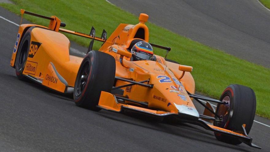 La agenda de Alonso en las 500 Millas de Indianápolis