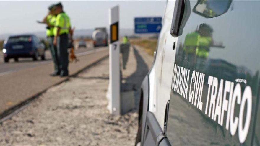 Un muerto en una colisión entre un coche y un tractor en Montalbán