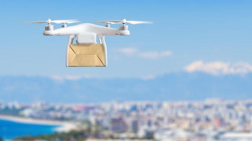 Drones al rescate de la población rural