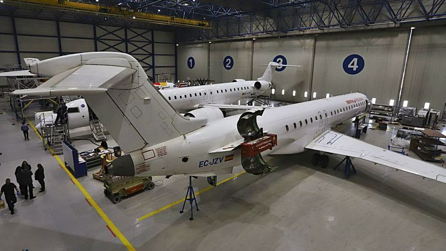 Air Nostrum vuelve a hacerse con el contrato de vuelos de deportaciones