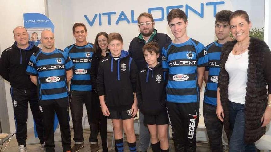 Vitaldent renueva como patrocinador del Os Ingleses