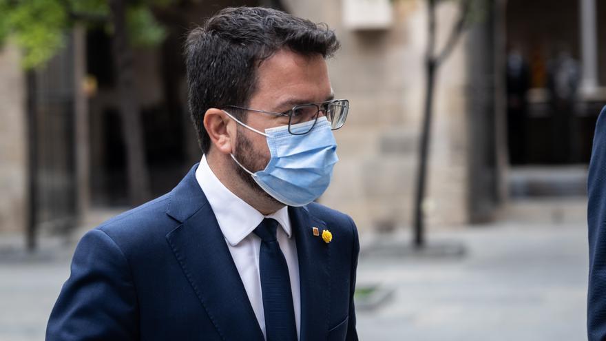 """Aragonès advierte de que la detención de Puigdemont """"no ayuda"""" al diálogo"""