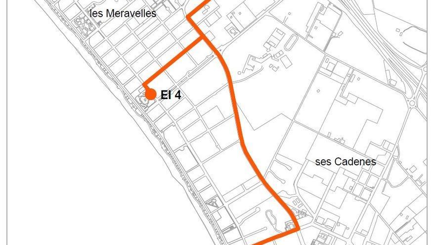 Comienzan las obras para renovar el sistema de saneamiento de la Playa de Palma
