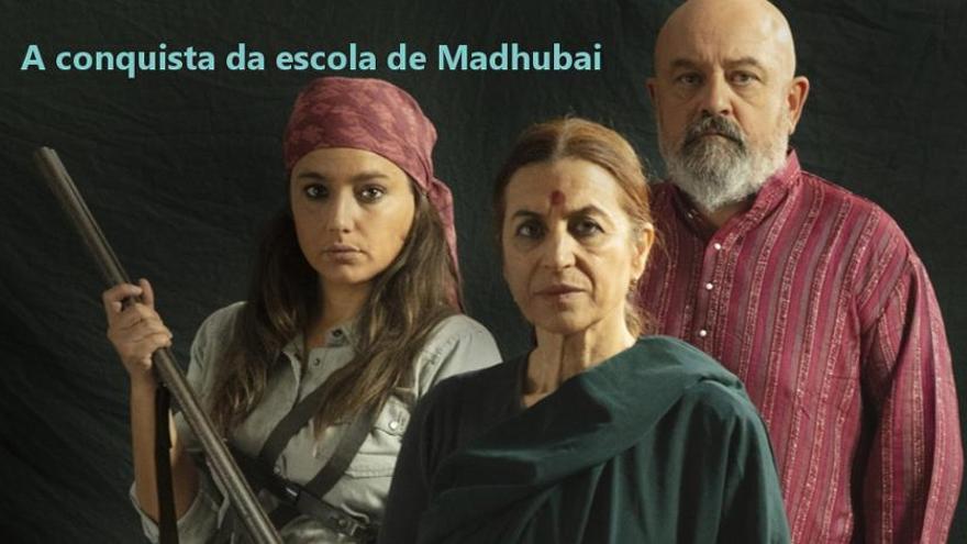 """""""A conquista da escola de Madhubai"""""""
