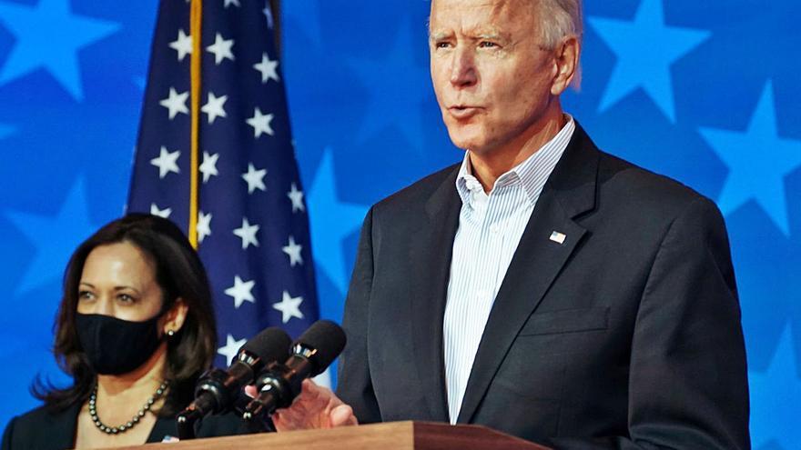 Biden, a las puertas de la Casa Blanca