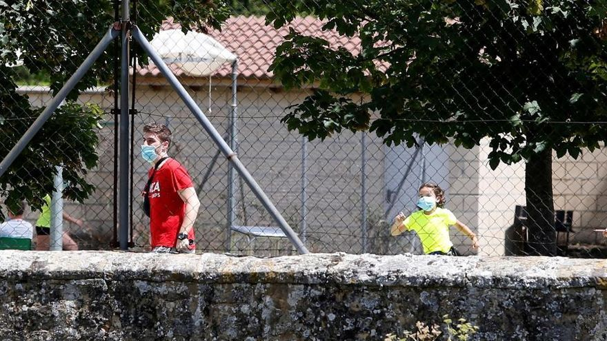 Aíslan a 35 menores de un campamento en Soria