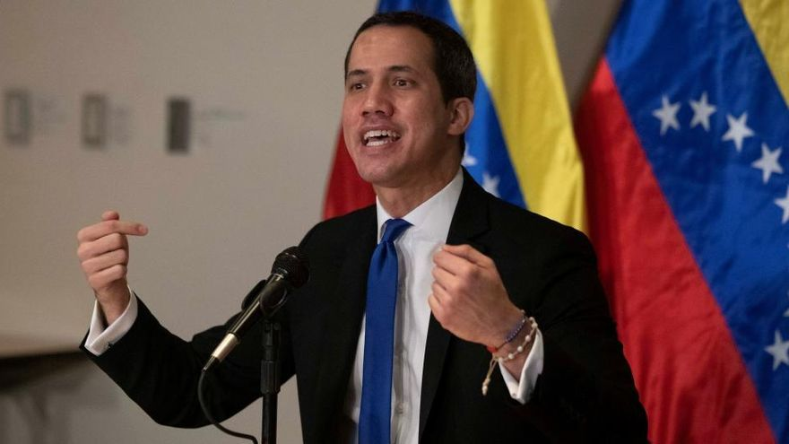 """Guaidó: """"La población rechaza el fraude de Maduro"""""""