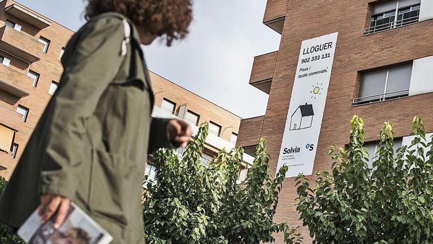 La Generalitat demanarà a l'Ajuntament que sancioni preus abusius de lloguers