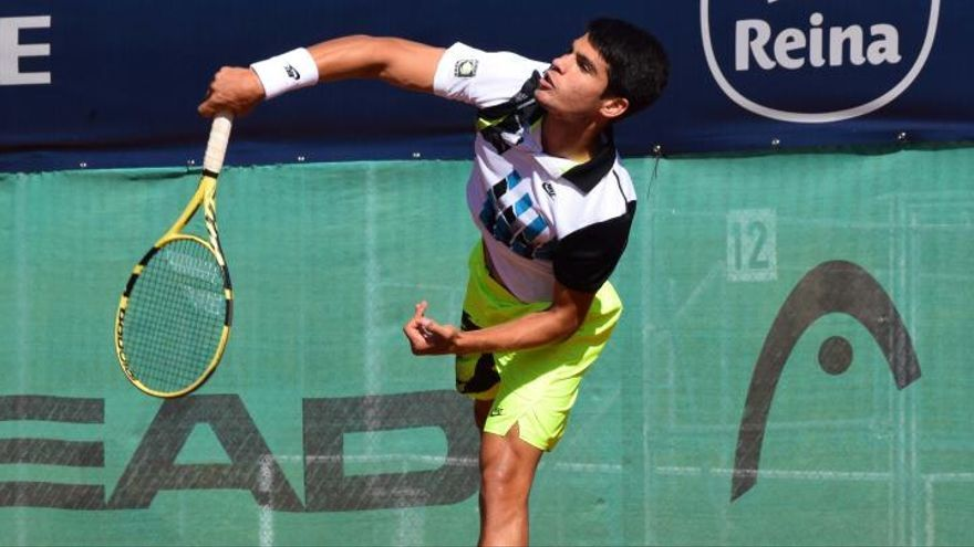 Carlos Alcaraz se clasifica para la final del Challenger de Villena