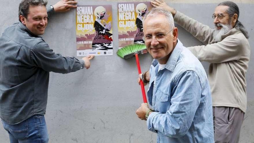 "La ""Semana negra"" logra traer a John Connolly tras 20 años de espera"