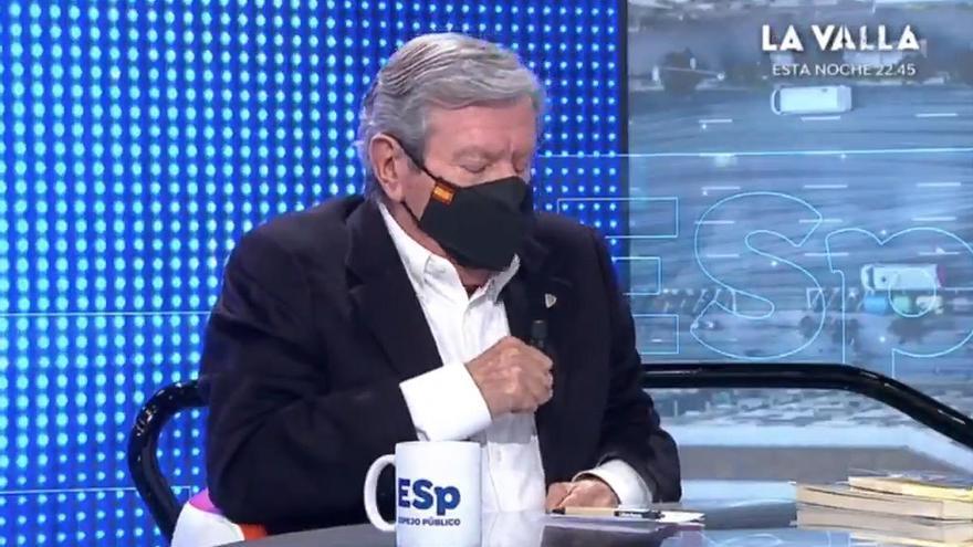 """El susto de Corcuera en pleno directo: """"Me ha saltado el desfibrilador"""""""