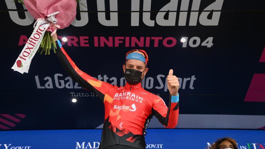 Ganador etapa 20 Giro de Italia 2021: Damiano Caruso