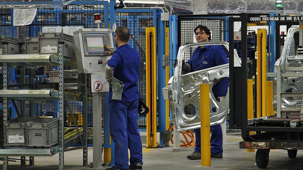 Planta de montaje de vehículos de Ford Almussafes. | VICENT M. PASTOR