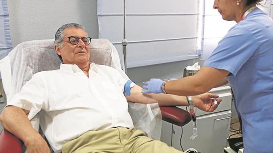 Las donaciones de sangre crecen un 3% en Castellón este verano