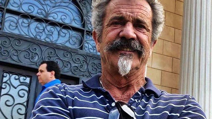 Mel Gibson, en el punto de ira