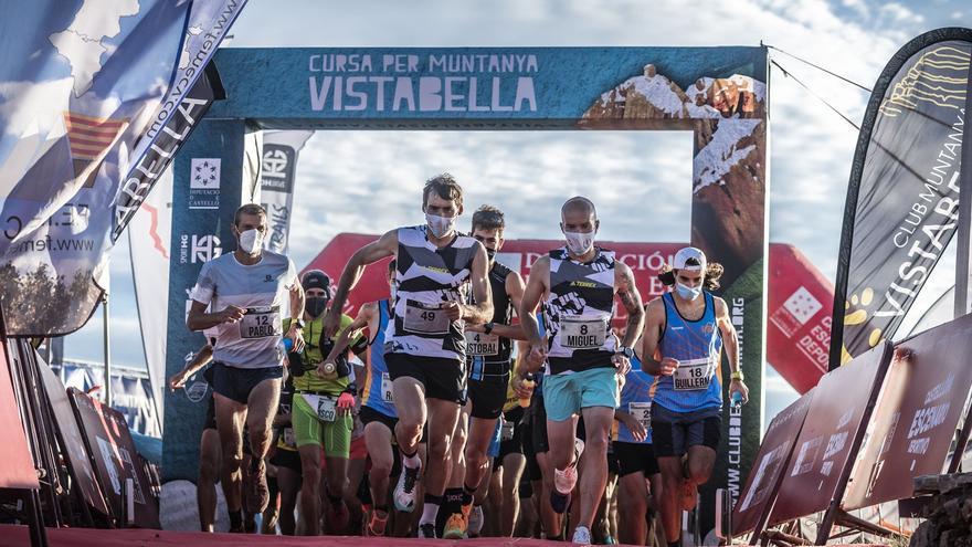 El trail de Vistabella corona a Luis Alberto y María Fuentes